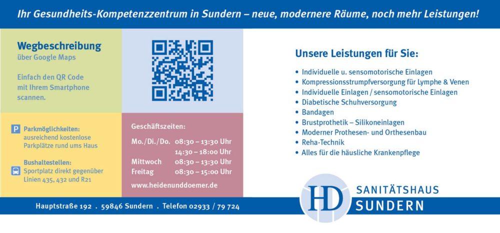Sanitätshaus Sundern – Heiden & Dömer 1